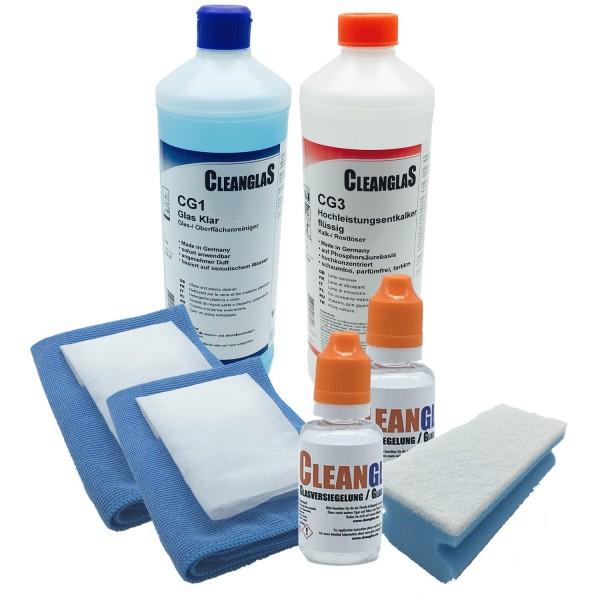 Glasversiegelung Dusche Cleanglas Testsieger bei Nanonator, Bernaunet, mach-selbst, XXL MEGA 60ml Ko