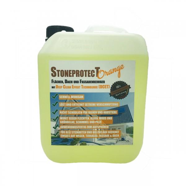 SPORANGE Stein-, Dach-, Fassaden-, & Holzreiniger StoneprotecT Orange