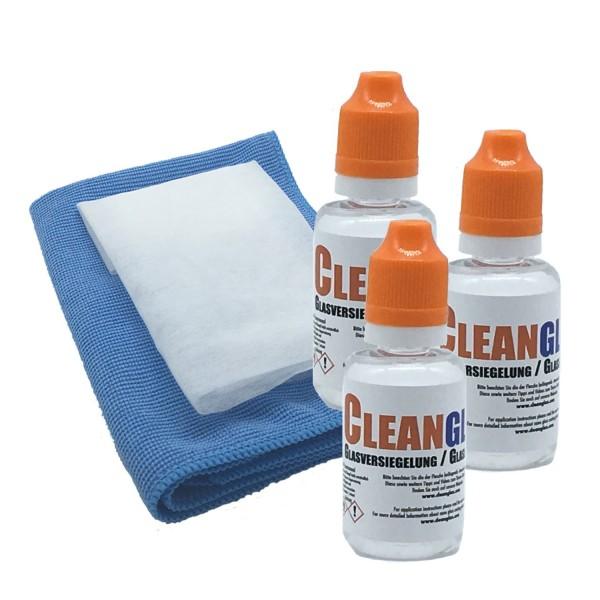 Cleanglas_Vorteilsset CG90 Testsieger Glasversiegelung Nanoversiegelung