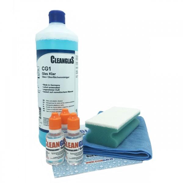 3 x 30ml Glasversiegelung Vorteilsset CleanglaS inkl Vorereiniger CG1